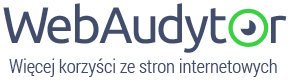 WebAudytor logo - audyty stron